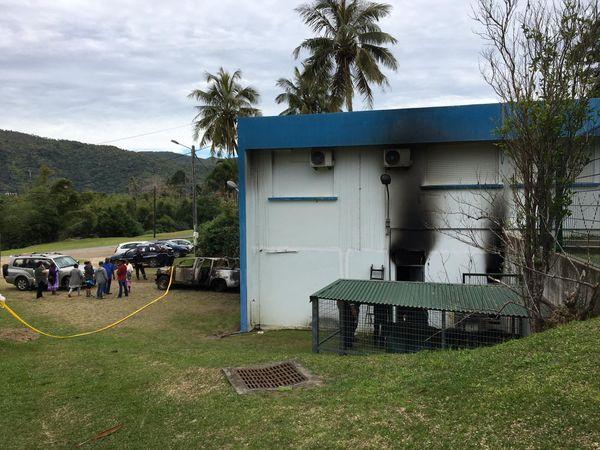 Dispensaire Ponérihouen incendie