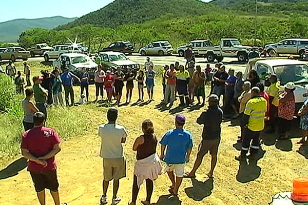 Manifestation des habitants de Népoui