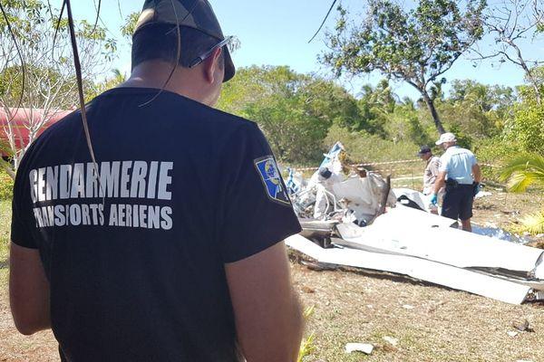Lifou : gendarmerie du transports aériens