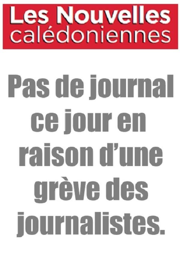 Les Nouvelles calédoniennes, 29 mars 2013