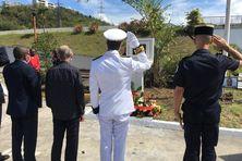 Un hommage sobre et solennel à la mémoire du sergent José Moutama.