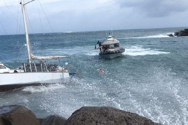 Naufragé secouru au port janvier 2018