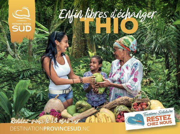 Campagne pour le tourisme local, coronavirus, province Sud, Thio