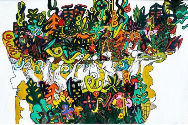 Oeuvre de l'artiste Fabrice Loval