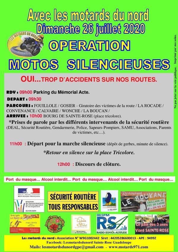 Opération motos silencieuses