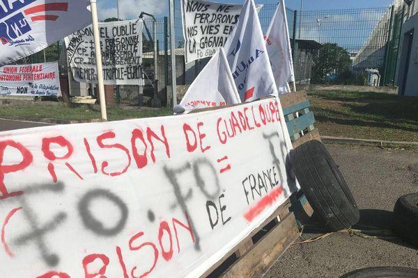 mouvement à la prison de Baie Mahault