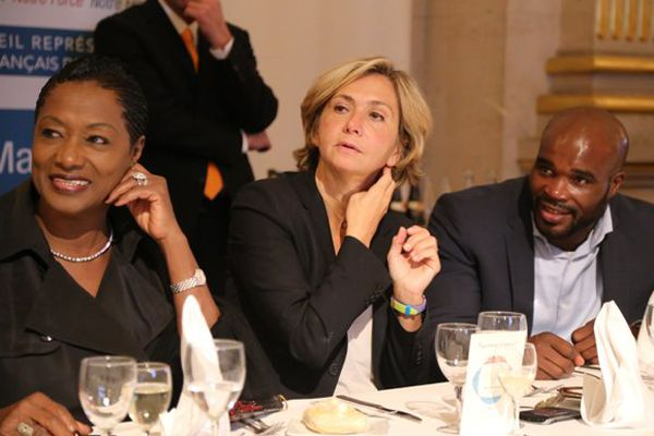 Un trio inédit : Babette de Rozières, Valérie Pécresse et Jean-Marc Mormeck