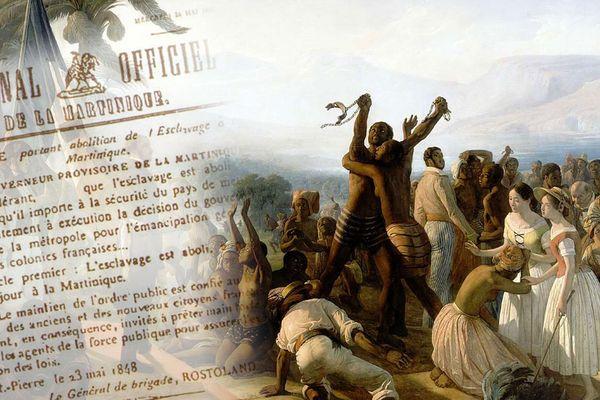 Abolition esclavage Martinique