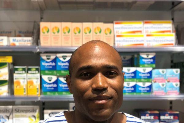 Lionel Combé Président de l'ordre des pharmaciens de la Guadeloupe