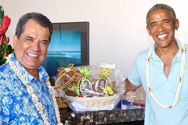 Barack Obama et Fritch