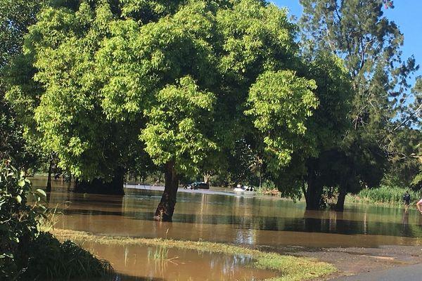 Carrefour du calvaire inondé, 18 octobre 2018