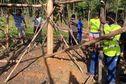 Des jeunes de toute la Guyane en chantier solidaire à Saint-Georges de l'Oyapock