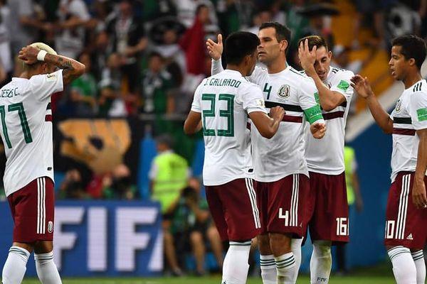 Match Mexique Suède coupe du monde