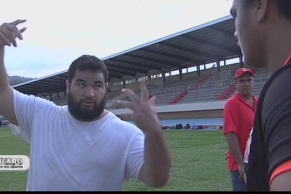 Le tahitien a décroché l'or au lancer du poids des championnats de France d'athlétisme en France