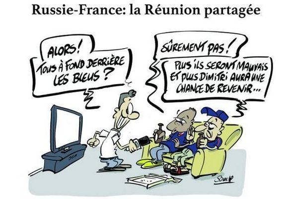 Le dessin de Souch : Russie-France