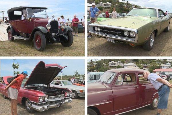 Mosaïque voitures anciennes