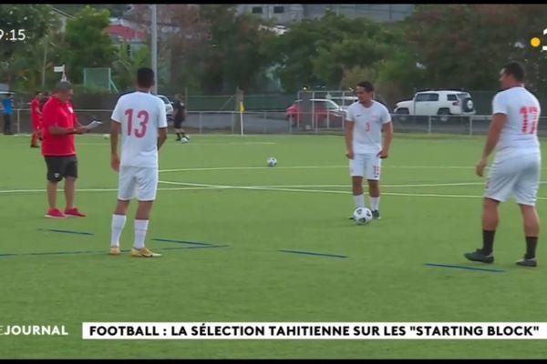 Reprise des entrainements pour la sélection tahitienne de football