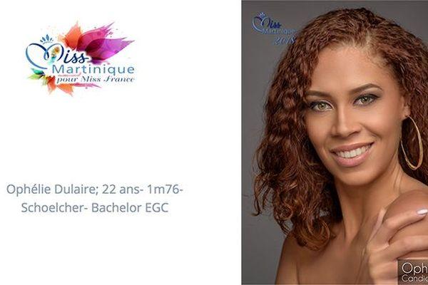 Miss 4 Ophélie Dulaire
