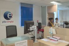 Bureau pôle emploi en Martinique.