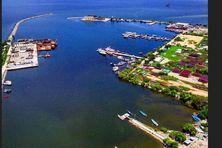 Le garde-côte vénézuélien a escorté les bateaux de pêche guyaniens au Port de Guiria.