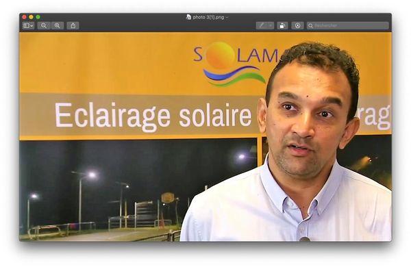 Philippe Byron, PDG de Solamaz