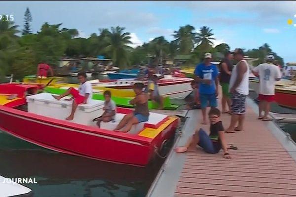 Un ponton flottant pour les pêcheurs de Paea