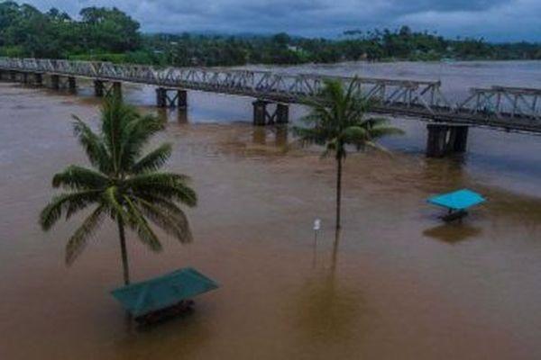 inondations à fidji