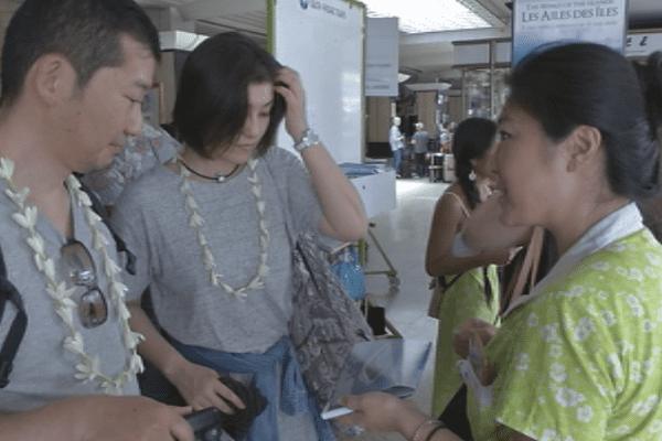 Japonais/ tourisme