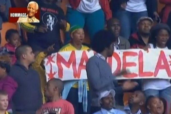 Nelson Mandela stade Soweto