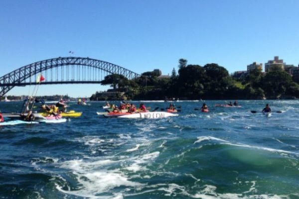 Manif climat Sydney