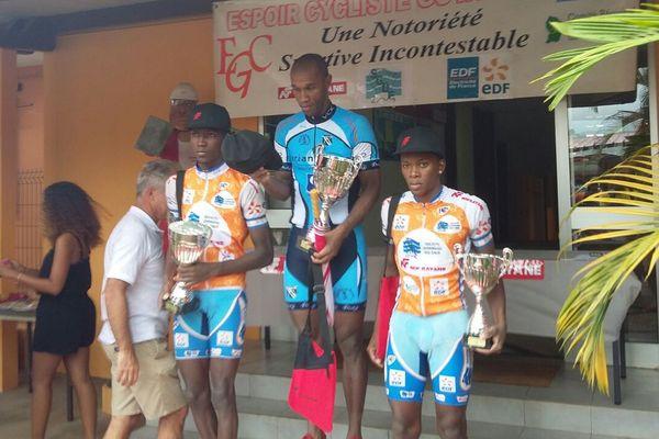 Le podium du grand prix Nofrayane
