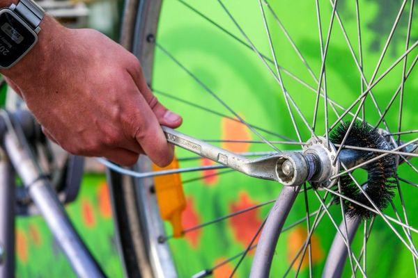 Ateliers d'autoréparation de vélos à Saint-Pierre.