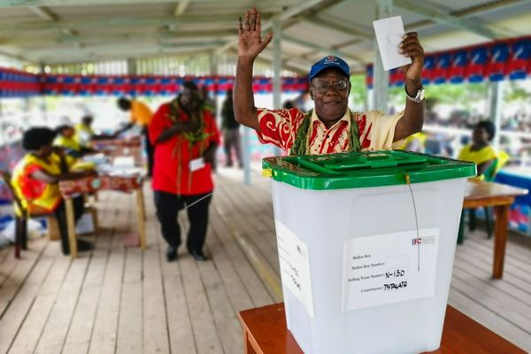 Référendum de Bougainville, 23 novembre 2019