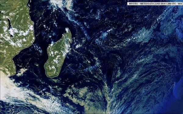 Image satellite 23 mars 2018