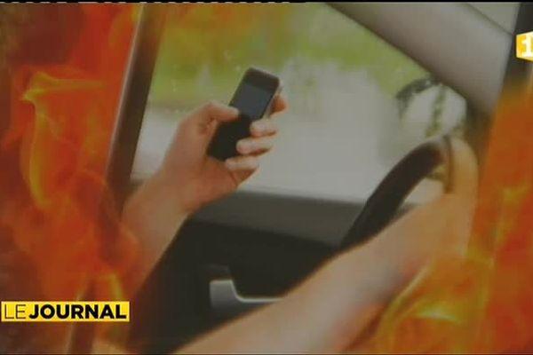 Smartphone au volant ? 180.000 xpf au volant