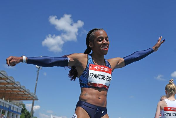 Mandy arrivée 100m