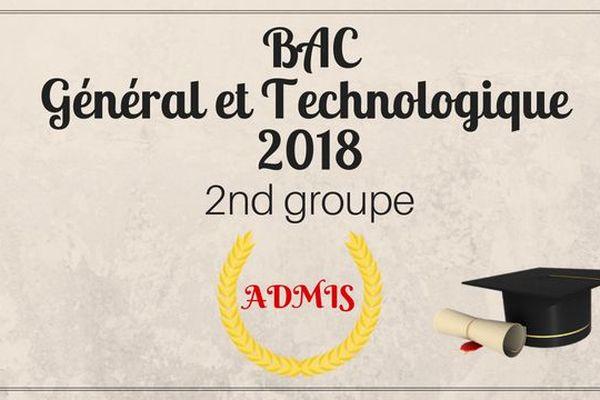 Bac 2nd groupe