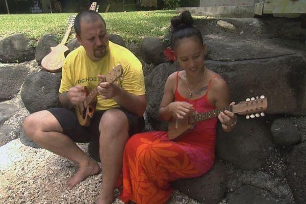 Maima Sing Soy menuisière ukulele