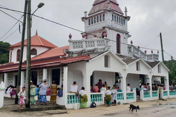 chapelle de malae à Futuna