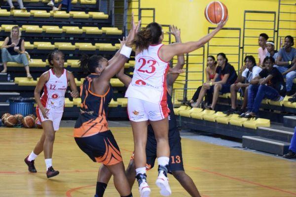 Shéryl Malédon en action