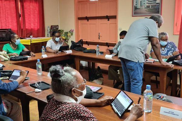 Atelier numérique pour les gangans