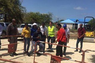 lancement du chantier irrigation