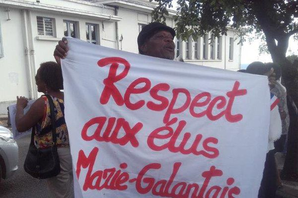ELUS MARIE GALANTE AU DEPARTEMENT