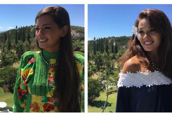 Miss Tahiti 2016 et sa 1ère dauphine