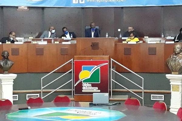 7ème plénière Région Guadeloupe