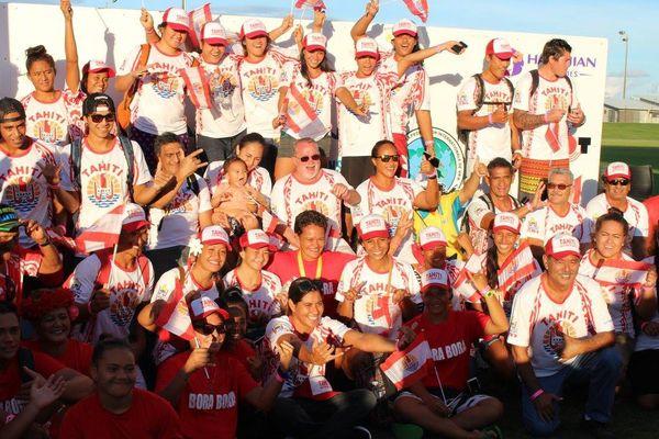 La sélection tahitienne aux championnats du monde de va'a 2016