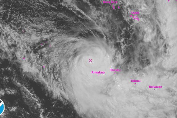 La dépression tropicale modérée Yalo s'intensifie aux Australes