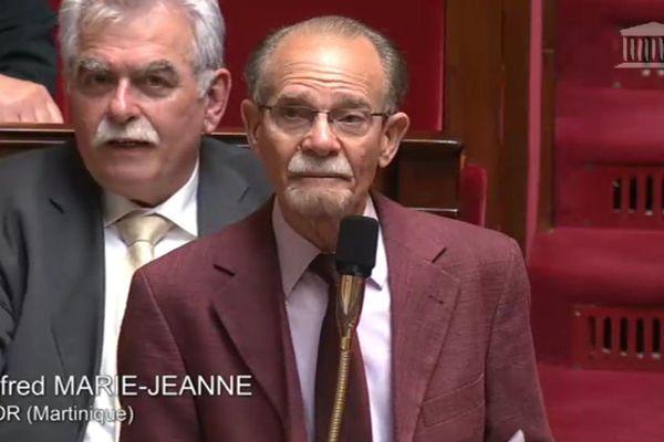 Alfred Marie-Jeanne à l'Assemblée nationale le 2 juin 2015