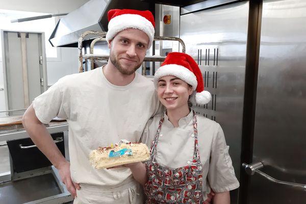 Florian et Charlotte pâtissiers