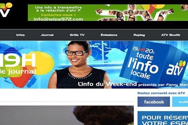 Page site ATV